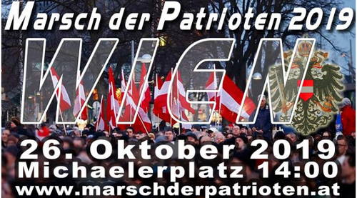 Wien March der Patrioten